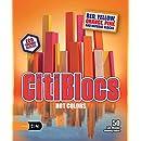 CitiBlocs 50-Piece Hot-Colored Building Blocks