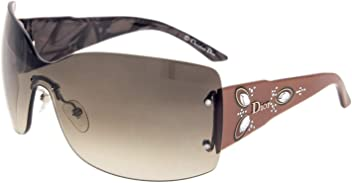 Christian Dior Womens Ethnidior 2 Brown Frame/Grey Gradient Lens Rimless Sunglasses
