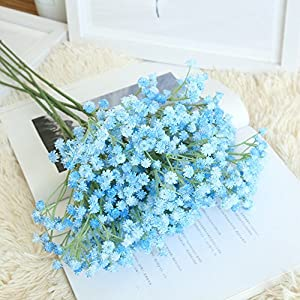 Artificial Gypsophila Floral Flower Fake Silk Wedding Party Bouquet Home Decor 2