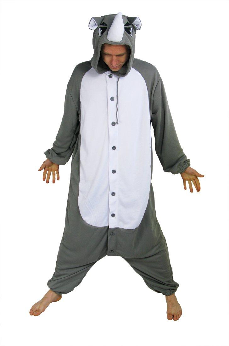 Nashorn Kostüm / Kigurumi Onesie (M)