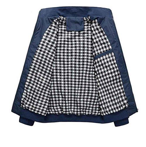 Copricapo Slim Cappotto Blue Collare Casual Jacket Sottile Di Cappotti Moda Uomo Giacche Primavera Arrivo Xl Giaccone CSUqF1wc