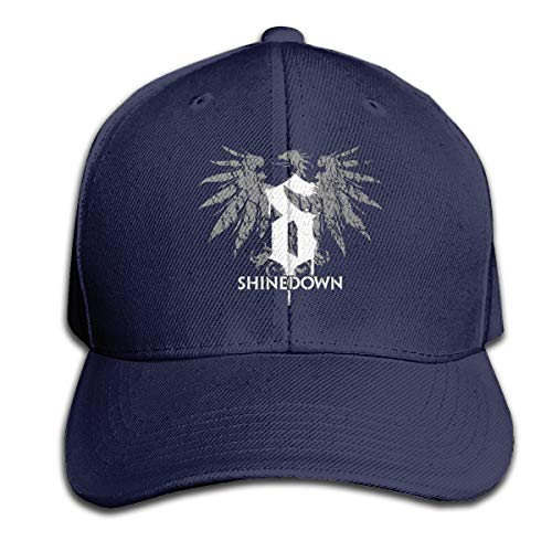 Vixerunt Hip Hop Baseball Cap,Shinedown-Somewhere-in-The-Stratosphere Adjustable Snapbacks Plain Sun Hats Navy