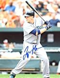 LOGAN MORRISON AT BAT SEATTLE MARINERS SIGNED AUTOGRAPHED 8x10 PHOTO W/COA