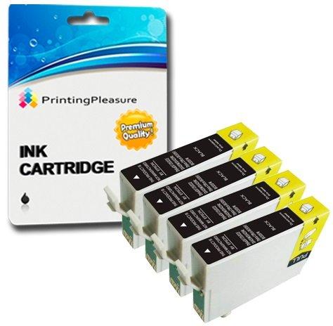 7 opinioni per 4 NERO Compatibili 29XL Cartucce d'inchiostro per Epson Expression Home XP-235,
