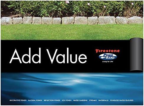 EPDM Rubber Firestone Pond Liner 9,09 Euro