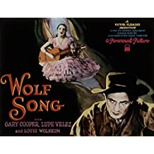 "Wolf Song, Gary Cooper and Lupe Velez, 1929 - Premium Movie Poster Reprint 36"" by 28"" Unframed"