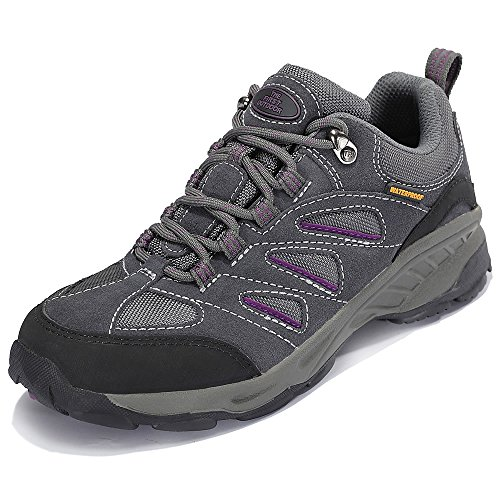 The First Outdoor Women's Air Cushion Breathable Running Outdoor Sports Hiking Shoes Sneakers, Gray (US 7.5)