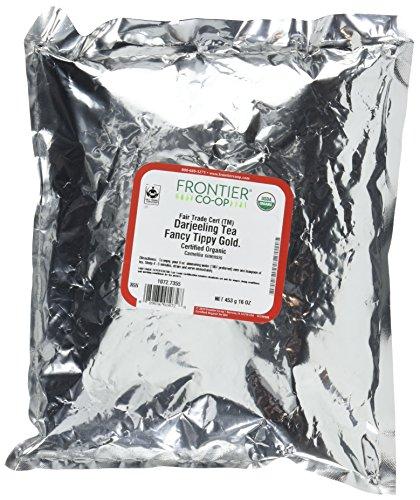 Frontier Organic Fancy Tippy Darjeeling Tea, 1 Pound