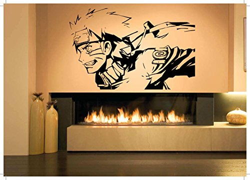 Wall-Sticker-Decal-Naruto-Cartoon-Ninja-Samurai-Warrior-Manga-Anime-Hentai-Poster-Boy-Nursery-Bedroom-SA1077