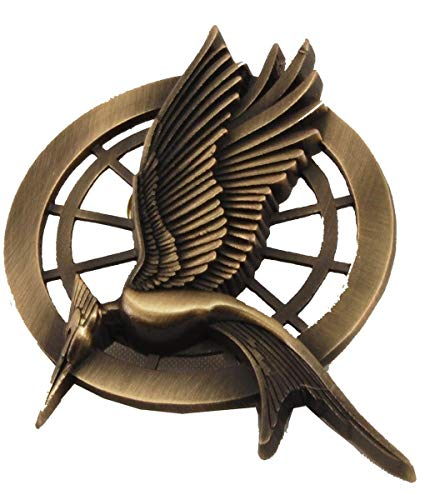 The Hunger Games Catching Fire Movie Prop Replica Mockingjay Pin -