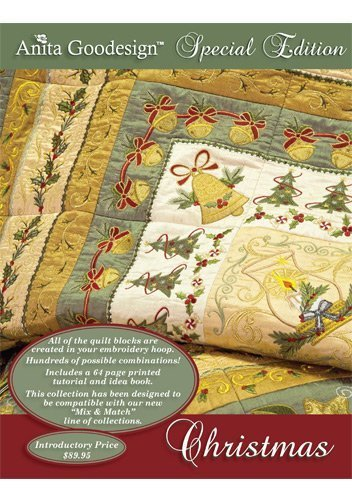 Anita Goodesign Special Edition Christmas Quilting Embroidery Designs