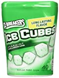 Ice Breakers Ice Cubes Spearmint Gum Bottle Pack- 4 ct