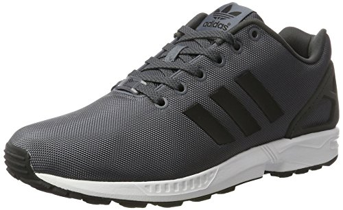 Men adidas Zx Trainers Flux White Grey Onix Black Core Ftwr qqwrxAHd