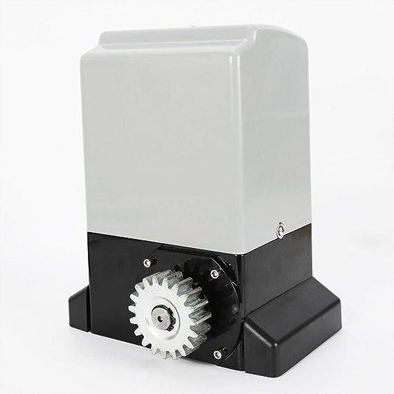 RANZIX - Sistema de accionamiento para puertas correderas (2000 kg/1200 kg, 2 mandos a distancia): Amazon.es: Bricolaje y herramientas