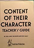 img - for Content of Their Character Teacher's Guide book / textbook / text book