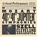 Mozart: Symphony No 40; Symphony No 41 / George Szell / Cleveland Orchestra (CBS Great Performances)