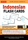 img - for Indonesian Flash Cards: Learn the 300 most common Indonesian words with all their derived forms (Audio CD Included) (Tuttle Flash Cards) book / textbook / text book