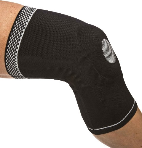 Dynamic Sleeve - Cho-Pat Dynamic Knee Compression Sleeve - for Knee Support, Arthritis, Patellar Support, Meniscus Tear, Joint Pain Relief and Recovery (Small, 16 1/8