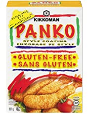 Kikkoman Gluten-Free Panko Bread Crumbs, Japanese-Style Bread Crumbs for Baking and Frying - High Quality - Unseasoned - 227 g