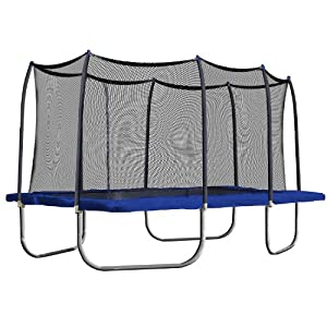 Amazon Com Skywalker Rectangle Trampoline With Enclosure