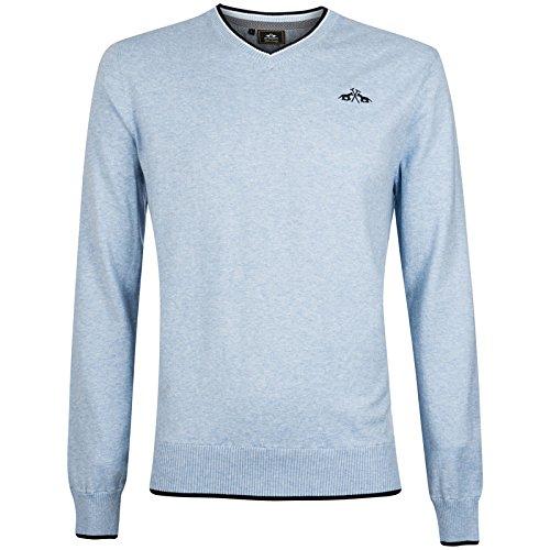 Hv Polo Society Herren Pulli Pullover Shirt Fraser Air Melange M L XL XXL