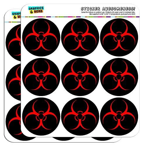 - Biohazard Warning Symbol Zombie Radioactive 2