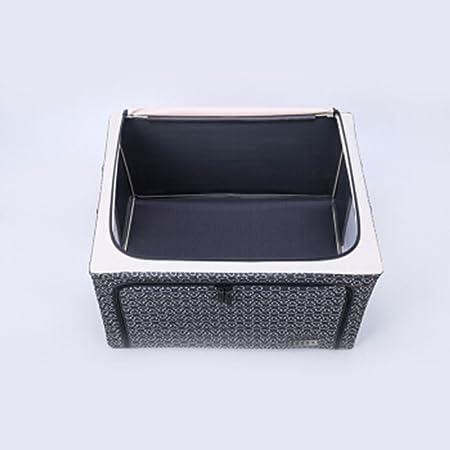 Caja de almacenamiento caja de almacenamiento de hierro de tela Oxford grueso cofre Caja de almacenamiento