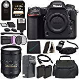 Nikon D500 DSLR Camera (Body Only) + Nikon AF-S NIKKOR 28-300mm f/3.5-5.6G ED VR Lens + Rechargable Li-Ion Battery + Home and Car External Charger + Sony 128GB SDXC Card + HDMI + Remote + Flash Bundle