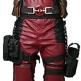 DP Holster Leg Bag Wade Wilson Belt&Tactical Leg Bag Pockets Holster Cosplay Props