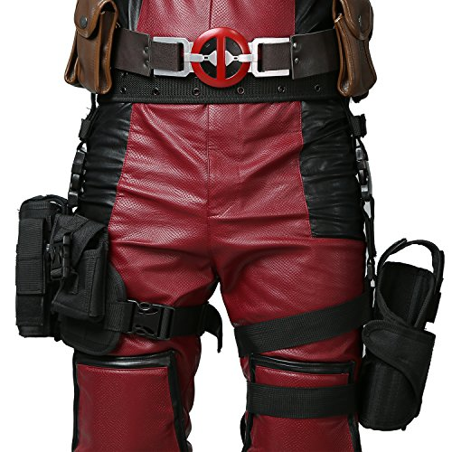 DP Holster Leg Bag Wade Wilson Belt&Tactical Leg Bag Pockets Holster Cosplay Props