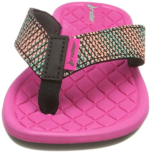 Black Fem Cloud Pink para Multicolor 8341 Rider V Chanclas Mujer 74Ua0