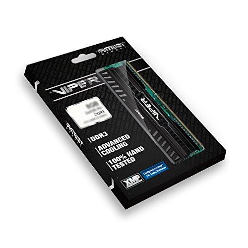Patriot Memory Performance Viper 3 DDR3 8GB Memory Kit PC3-15000 (1866MHZ) PV38G186C0K Black Mamba by Patriot (Image #3)