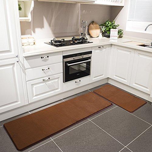 Kitchen Rug Set Leevan Memory Foam Kitchen Comfort Mat
