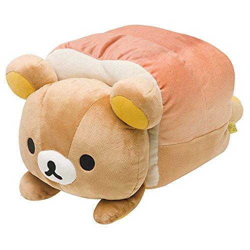 San-X Rilakkuma Bakery Super mo-chi mochi Plush Doll From Japan New