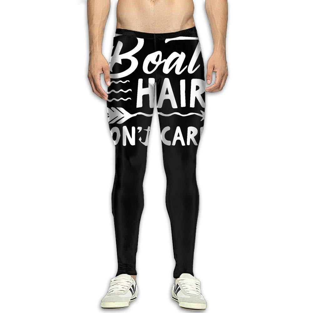 Amazon.com : NKUANYJYDKN7 Mens Boat Hair Dont Care Yoga ...