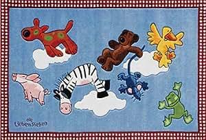 Ls 2198 01 alfombra die lieben sieben nubes 130 x - Alfombras dormitorio amazon ...