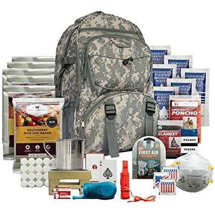 4155b9c87b12 Amazon.com: Wise 5-Day Survival Backpack (38) Essential Items Needed ...