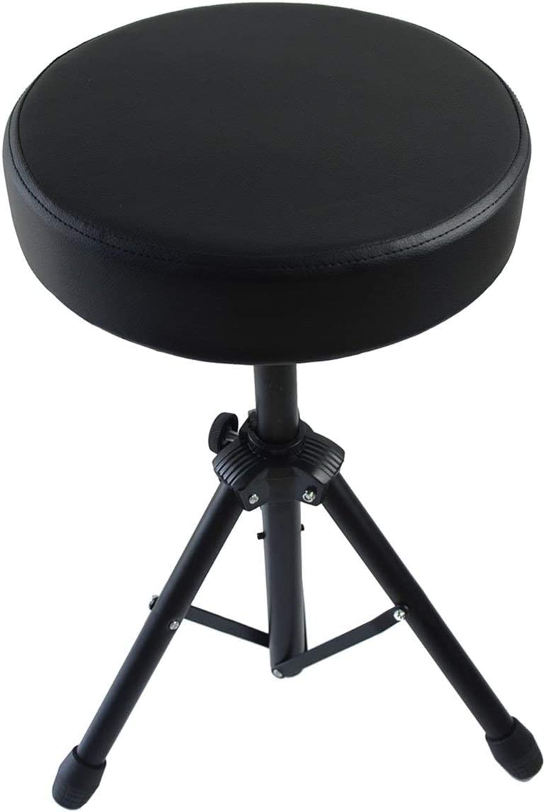 Feibrand Taburete para batería con asiento acolchado
