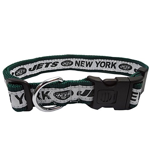Pets First NFL New York Jets Dog Collar, X-Large