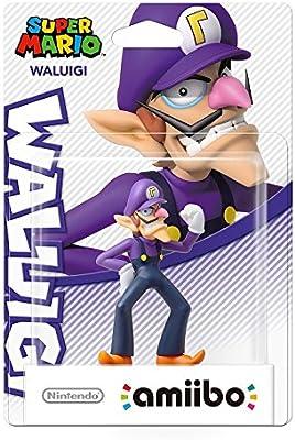 Nintendo - Figura Amiibo Waluigi (Colección Mario): Amazon.es ...