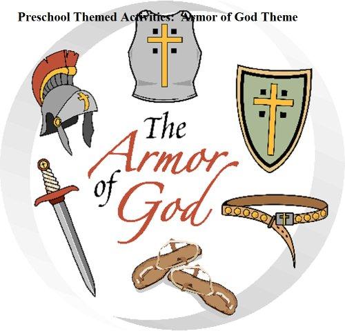 Preschool Themed Activities:  Armor of God