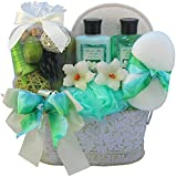 Jasmine Renewal Spa Bath and Body Gift Basket Set, Medium