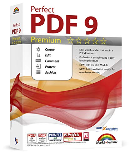 Perfect PDF 9 Premium - Create, Edit, Convert, Protect, Add Comments to,...