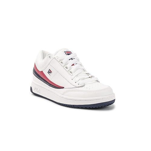 Fila T1 Mid Sneaker Uomo 1VT13037 150 White Fila Navy Fila ...