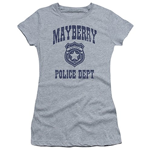 Shirt le donne Heather Mayberry per giovani T Police Show atletica Andy Griffith wROqTqZ