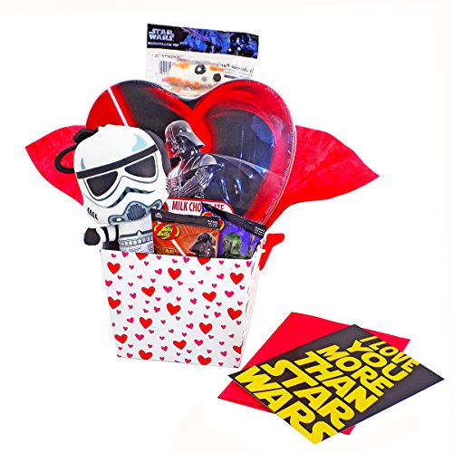 I Love You More Than Star Wars - Valentine's Day Candy Gift Basket