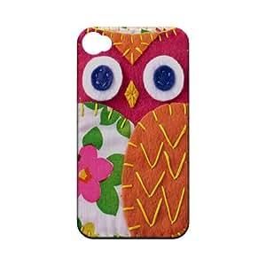 Hot Pink/ Green Owl Geek Nation Program Exclusive Jodie Rackley Series Hard Case for Apple iPhone 4/4S