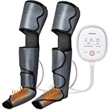 Leg Massager for Circulation and Relaxation, Alitake Foot Massager with Soothing Heat Massage Machine for Foot Calf Thigh with 6 Modes 3 Intensities, Ideal Gift for Men Women Mother and Father