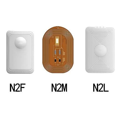 Amazon.com: HAJZF NFC Smart Wear, Analógico IC Tarjeta de ...