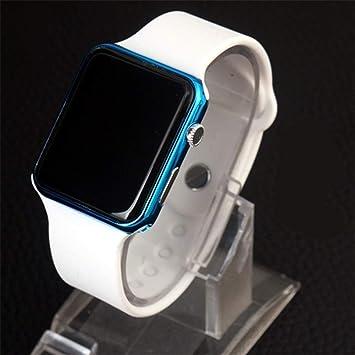 GBVFCDRT Reloj Deportivo para Hombre Reloj Casual para Hombre Reloj Digital Hombre Ejército Militar Reloj de Pulsera de Silicona Reloj, Style9: Amazon.es: ...
